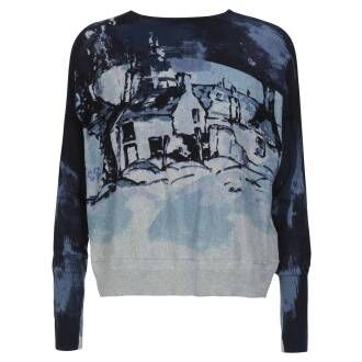 High Pullover High  PAINTERLY 751164
