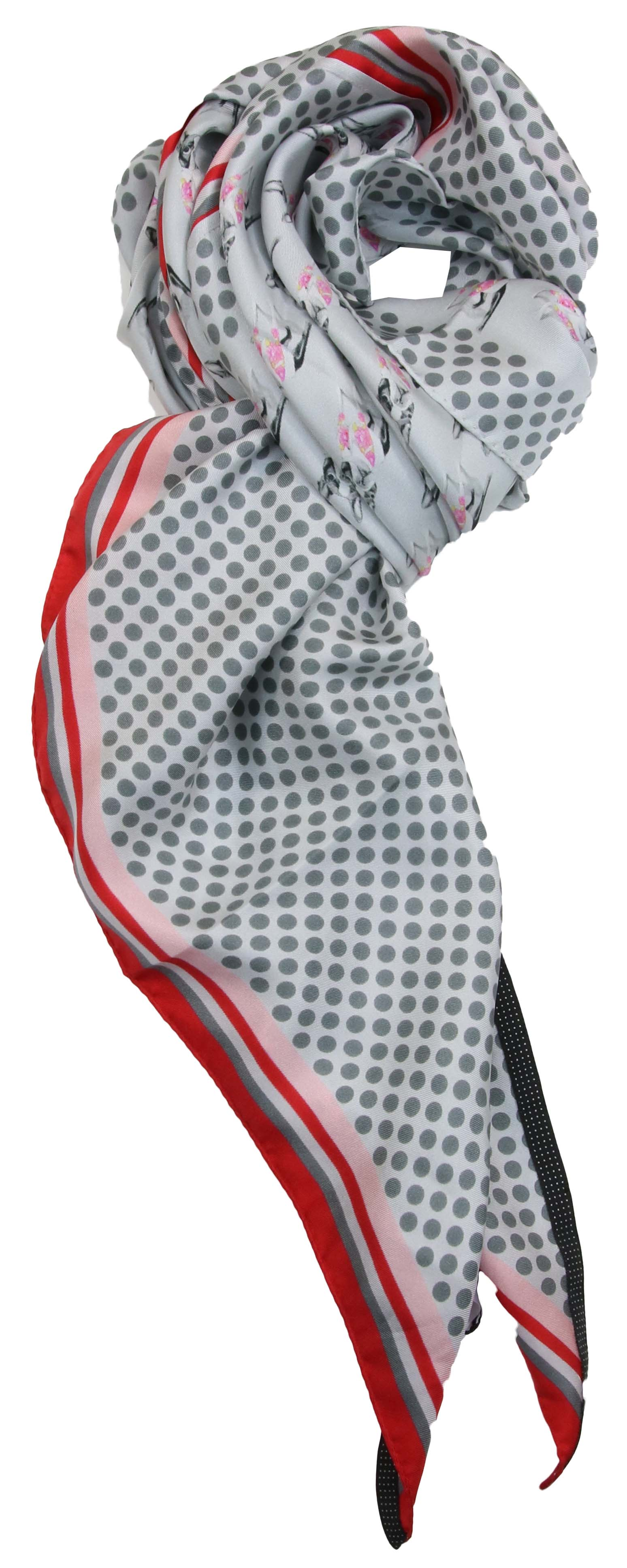 marc cain shawls hcb106 z14 grijs bij. Black Bedroom Furniture Sets. Home Design Ideas